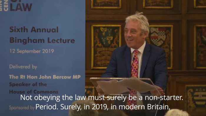 Bercow insists Johnson must ask for Brexit extension