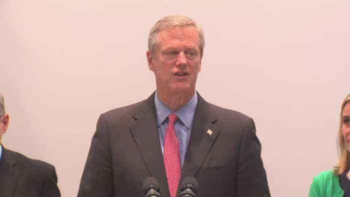 Gov. Charlie Baker On EEE Threat In Massachusetts