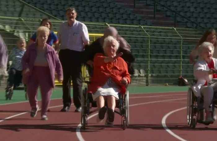 Brussels' elderly prove age no barrier to 'Olympic' endeavour