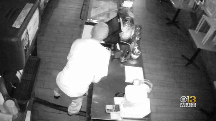 Baltimore County Police Search For Suspect Who Stole From Ice Cream Store In Towson