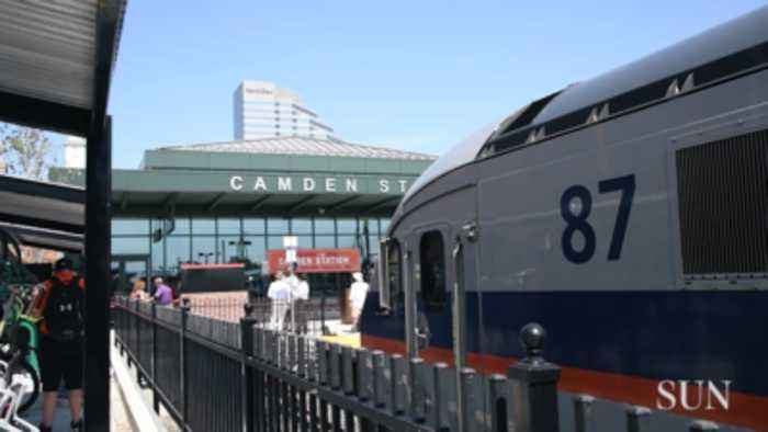 Camden Station opening in Baltimore