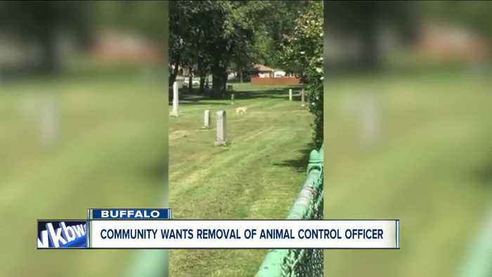 Community calls for removal of animal control officer