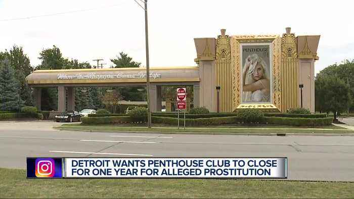 Detroit strip club facing possible closure after accusations of soliciting prostitution