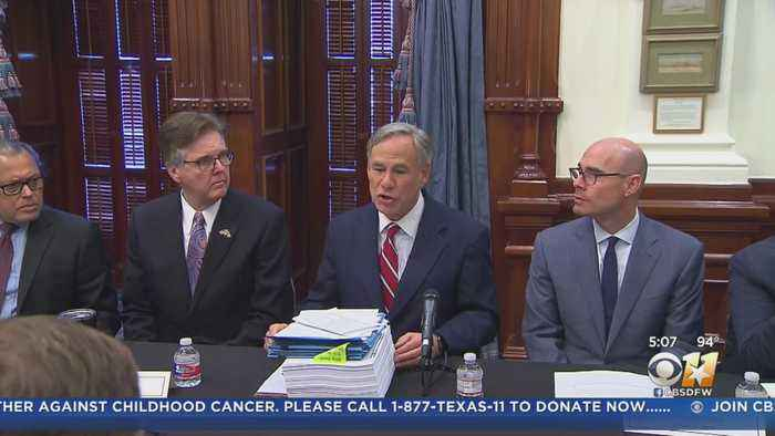After Mass Shootings In Texas, Governor Abbott Unveils Texas Safety Action Report & Suggestions For State Lawmakers