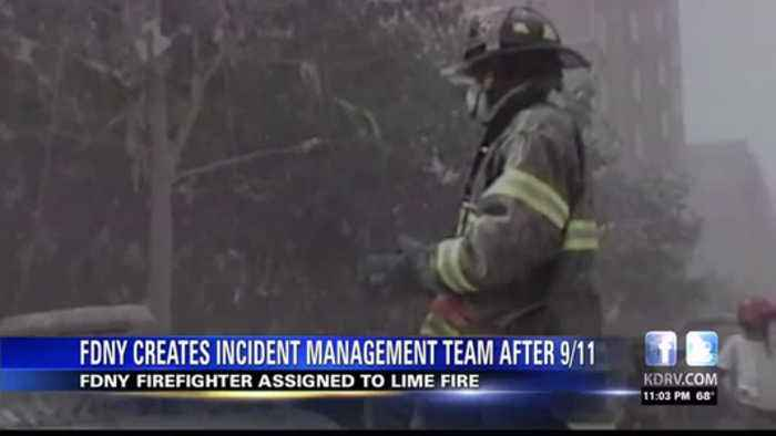 FDNY firefighter assigned to Lime Fire discusses how incident management teams helped on 9/11
