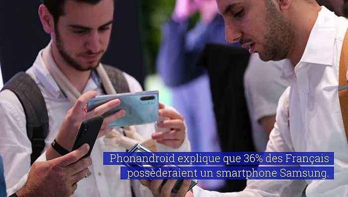 Samsung, la marque de smartphone préférée des Français
