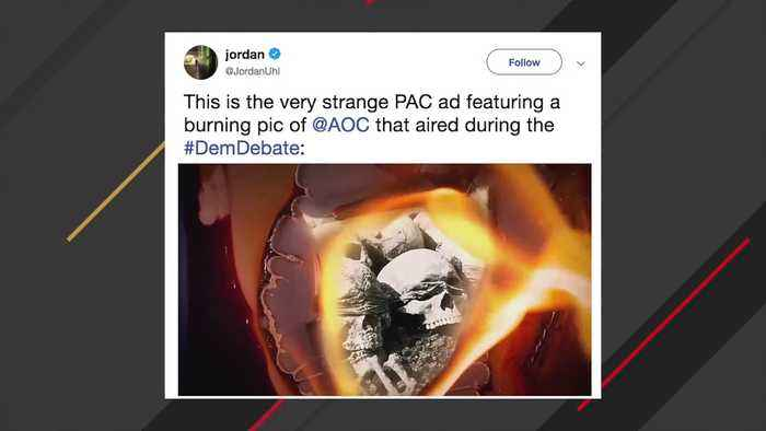 Burning AOC Ad Sparks Controversy