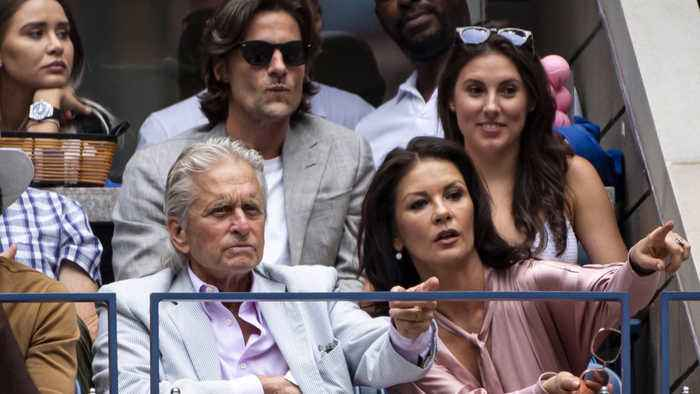 Courtesy is the key to a successful marriage for Michael Douglas