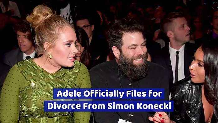Adele Officially Files for Divorce From Simon Konecki