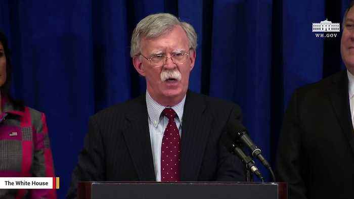 Bolton Reportedly Returns To Leading Political Action Committees After White house Departure