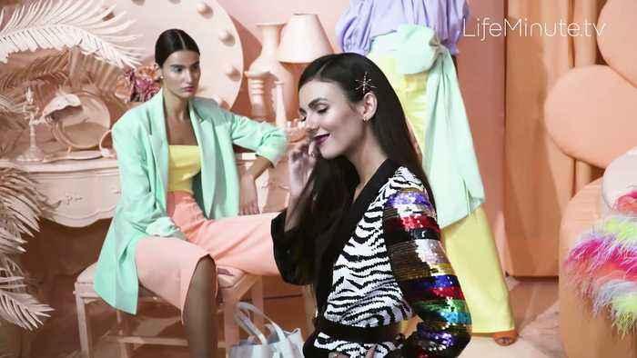 Sofia Richie, Suki Waterhouse, Camille Kostek, Paris Hilton Step into Alice + Olivia's 'Field of Dreams' Spring 2020 Presentatio