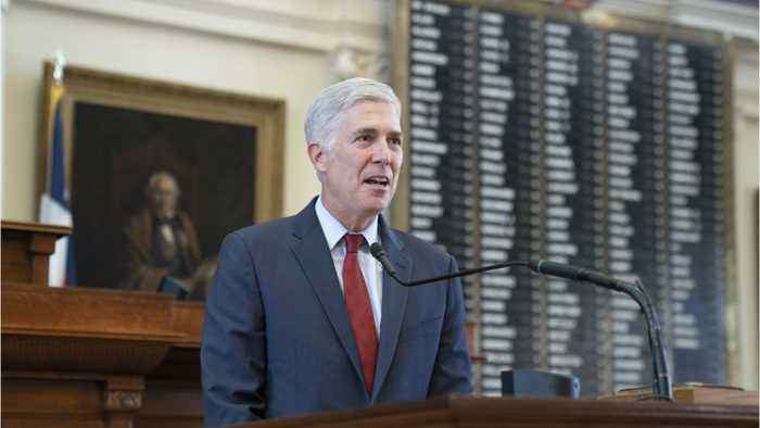 Justice Gorsuch Sees Immigration Through Wife's Eyes