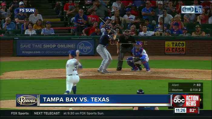 Texas Rangers knock Tampa Bay Rays from AL wild-card lead