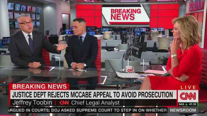 Toobin defends 'colleague and friend' Andrew McCabe