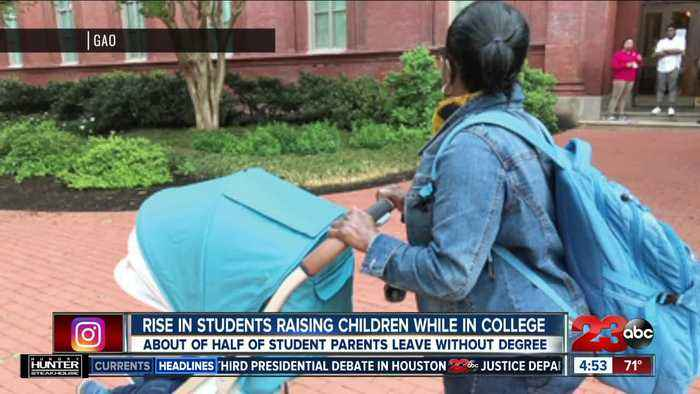 Rise in students raising children while in college