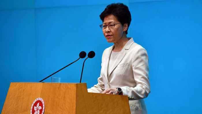 Hong Kong's Leader Unveils Housing Reforms Amid Demonstrations
