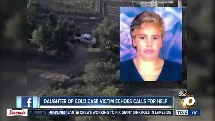 Daughter of cold case victim echoes calls for help