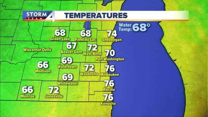 Elissia Wilson's midday Storm Team 4cast for 9/13