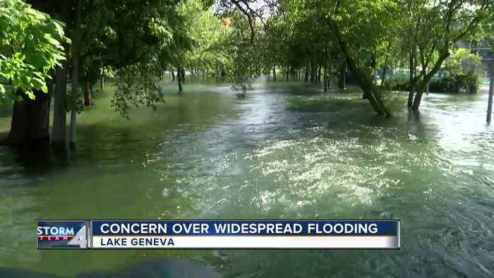 Lake Geneva residents concerned after widespread flooding this week
