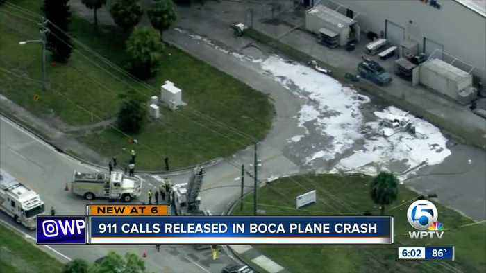 911 calls for Boca plane crash released; police report says pilot felt something was off with plane