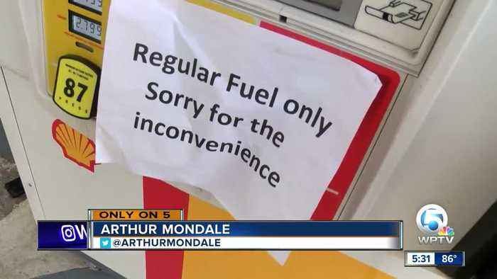 Drivers stuck after fueling up with contaminated gas in Jupiter