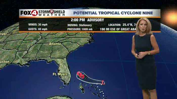 Tropical System; Little Impact for SW FL