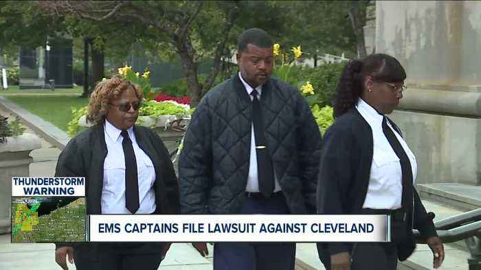 Cleveland EMS captains say they are being discriminated against by the city for being black