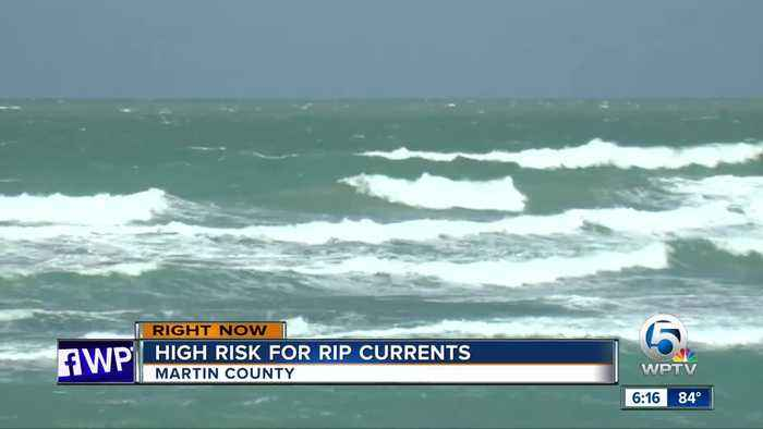 Lifeguards warn of rip current risk this weekend