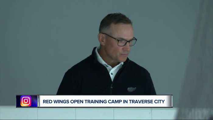 Red Wings open training camp in Traverse City