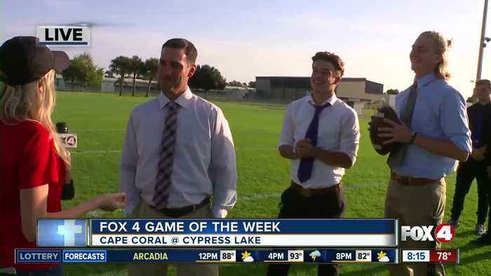 Cape Coral Seahawks vs. Cypress Lake game of the week