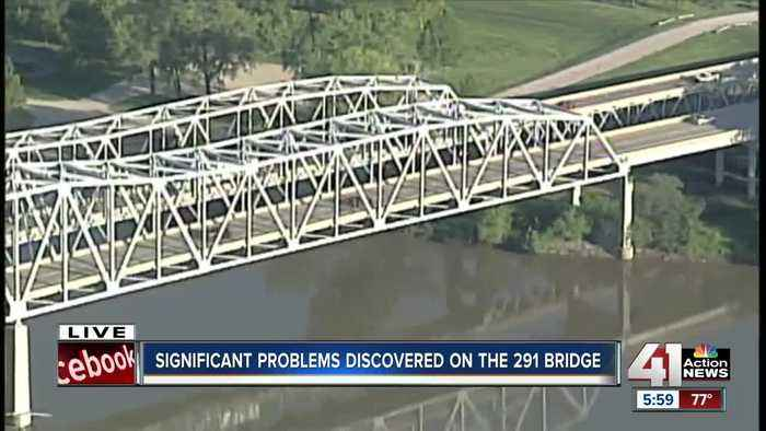 Inspection reveals 'significant deterioration' on MO 291 bridge