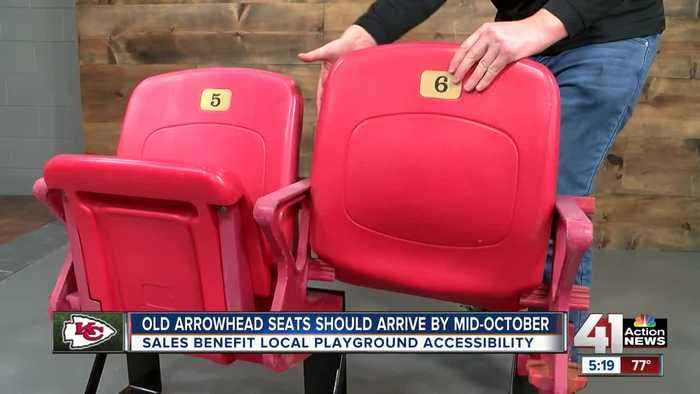 Here's how old Arrowhead seats will arrive at your door