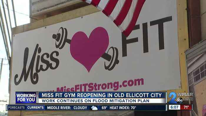Miss Fit gym reopens in new building on Main Street in Old Ellicott City