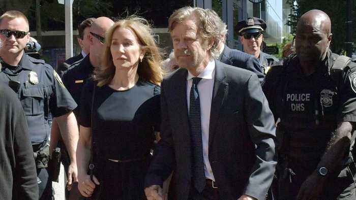 Felicity Huffman Gets 2 Weeks In Prison Over Admissions Scandal