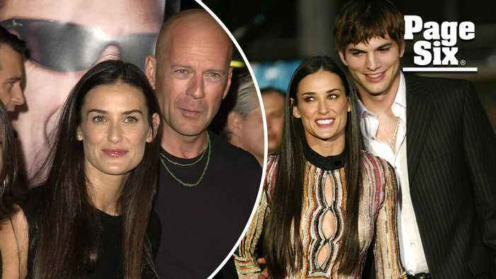 Demi Moore 'traded up' and more stars who went younger and hotter