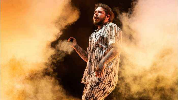 Post Malone debuts new 'Saint-Tropez' video
