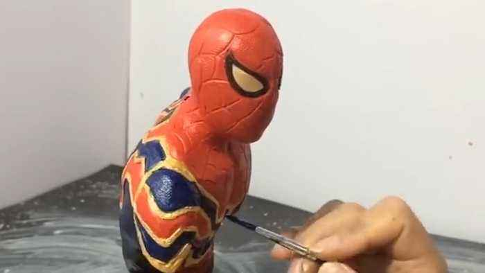 Detailed Character Sculptures