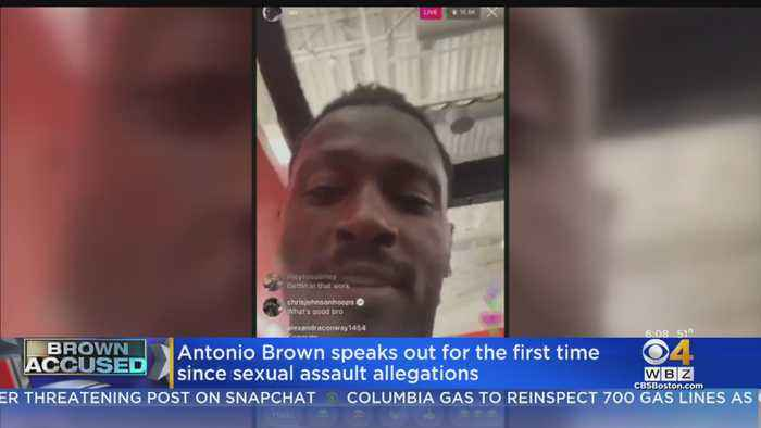 Antonio Brown Works Out At TB12 Center, Speaks Out About Sexual Assault Allegations