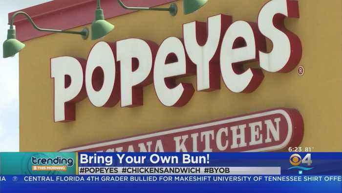 Trending: Popeye's Chicken Sandwich