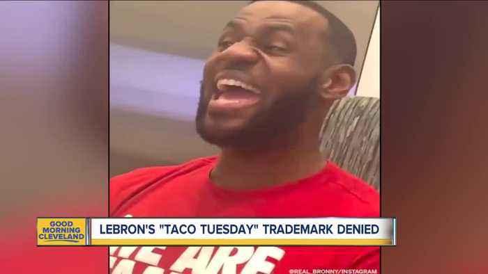 Lebron's trademark application denied
