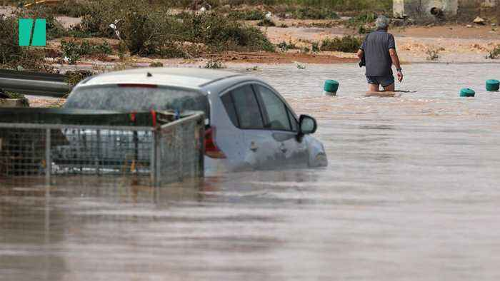 Three Killed As Heavy Rainfall And Flooding Causes Chaos In Spain