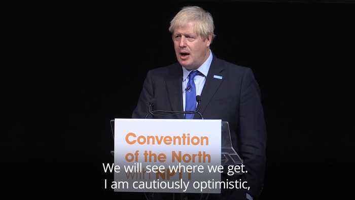 Boris Johnson 'cautiously optimistic' of new Brexit deal
