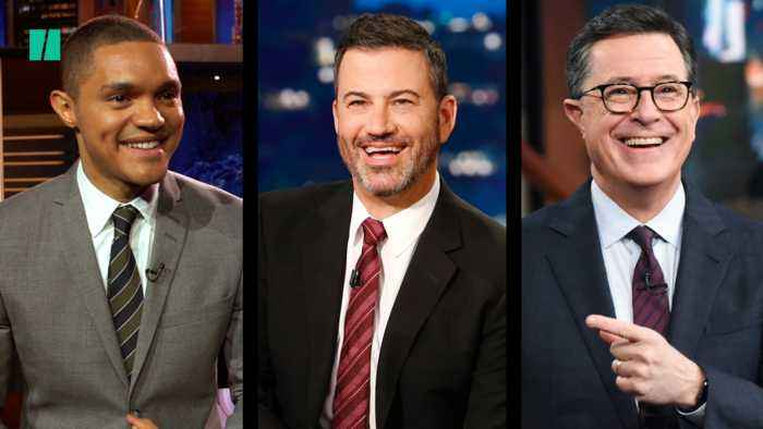 Late Night Hosts Laugh About Third Democratic Debate