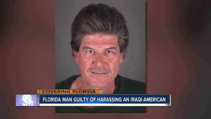 Florida man guilty of harassing an Iraqi-American family