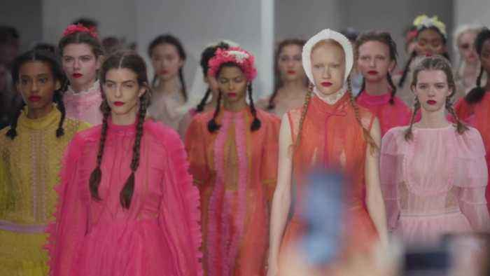 Bora Aksu thrills London Fashion Week with catwalk collection