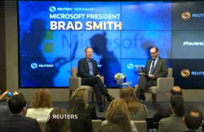 Tech firms won't wait for U.S. to act on social media laws -Microsoft's president