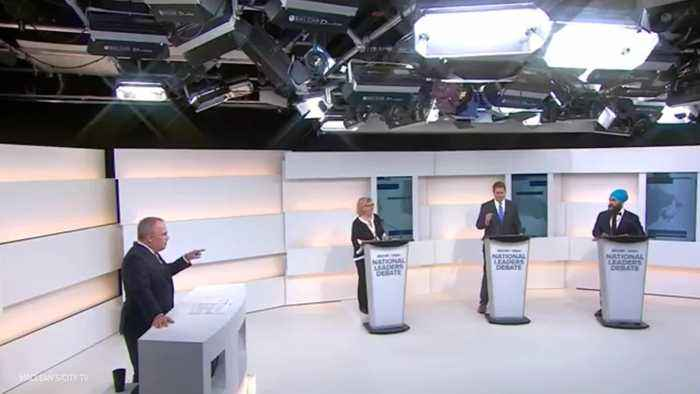 Party Leaders Exchange Jabs At The First National Debate
