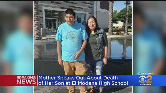 'He Was Always Smiling': Mother Speaks Out About Son's Death In El Modena High Golf Cart Crash