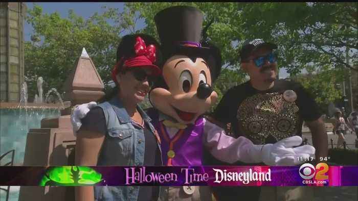 Disneyland Makes It Officially Halloween Season