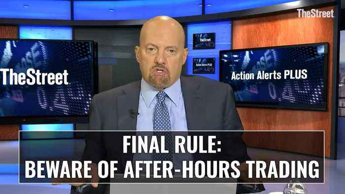 Action Alerts PLUS: Beware of After Hours Trading